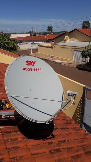 Antena 90 Cm Ku