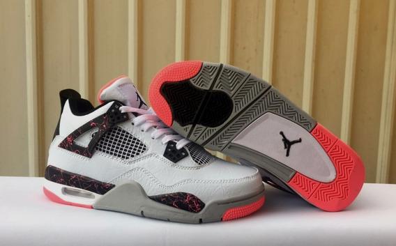 Tênis Nike Air Jordan 4 Retro Flight Nostalgia