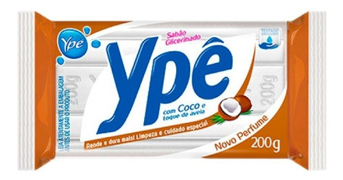 Jabon De Glicerina En Barra Con Coco, 100% Biodegradable Ype