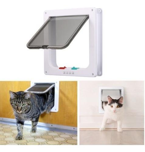 Imagen 1 de 5 de Mascota Gato Puerta Kitty Pase Interior Oculta Perro Forma D