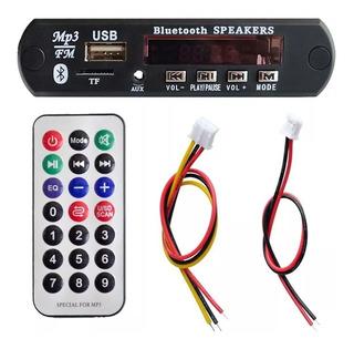 Modulo Reproductor Mp3, Usb, Sd, Radio Bluetooth.