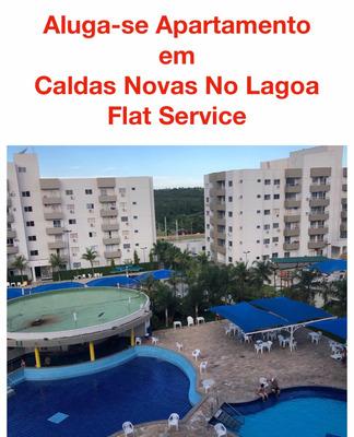 Aluga-se Apartamento Em Caldas Novas No Lagoa Flat Service