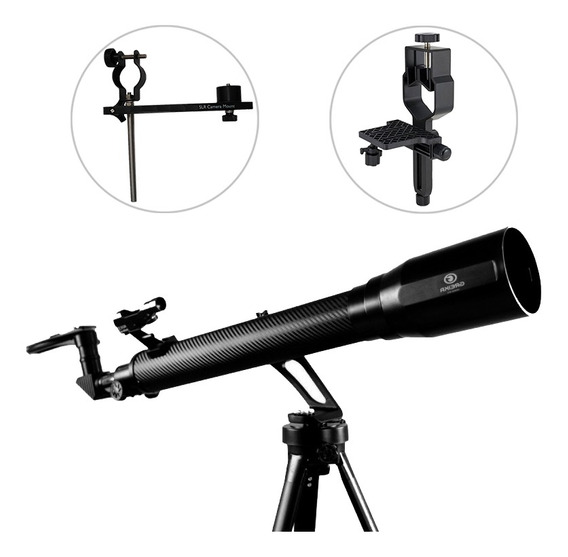 Telescópio Azimutal Greika + Adaptadores Câmera Fotografica