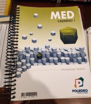 Caderno 1 - Poliedro Pré-vestibular Medi Sistema De Ensino