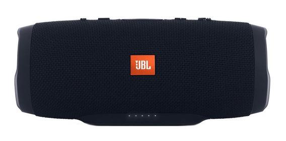 Caixa de som JBL Charge 3 portátil sem fio Black