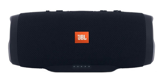 Caixa de som JBL Charge 3 portátil Black