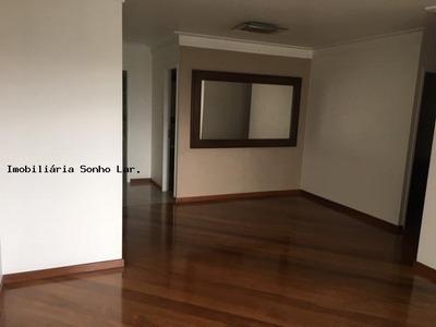 Apartamento Para Venda Em São Paulo, Vila São Francisco, 4 Dormitórios, 2 Suítes, 4 Banheiros, 3 Vagas - 8556