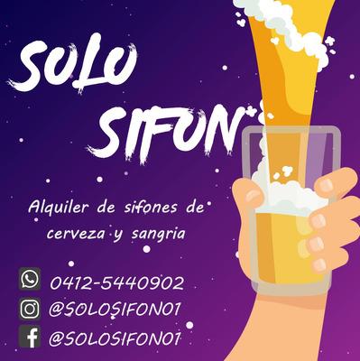 Alquiler De Sifones De Cerveza Y Sangria