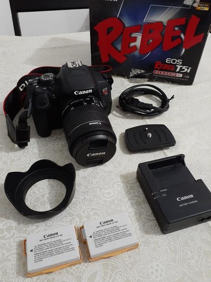 Canon T5i Com Lente 18-55m