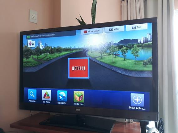 Tv LG 47 Polegadas, 3d Modelo 47lw5700 Perfeita! Não Envio.