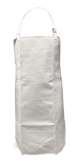 Delantal Blanco Anticorte Zb Para Frigorífico - Carnicería
