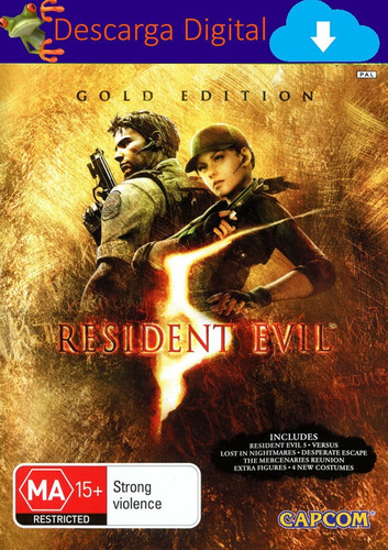 Resident Evil 5 Gold Edition Juego Pc Digital