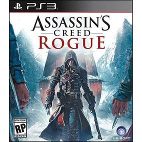 Ps3 Assassins Creed Rogue Midia Fisica Novo