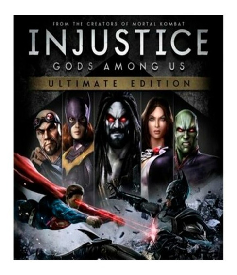Injustice: Gods Among Us Ultimate Edition Incl. Soundtrack