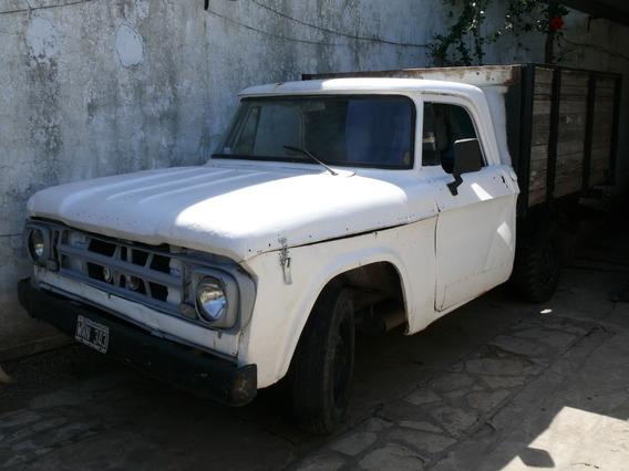 Vendo Dodge D100 ($120 Mil)soy Titular.papeles Al Dia .
