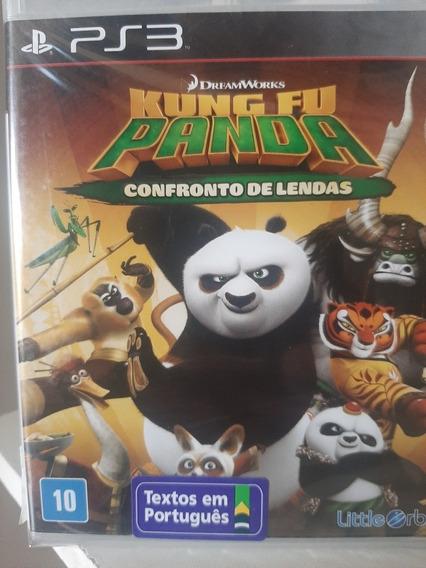 Jogo Kungfu Panda: Confronto De Lendas Ps3 Português Lacrado