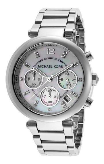 Reloj Para Dama Micheal Kors Parker Mk 5700 Inox Original