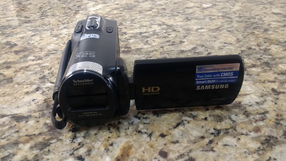 Filmadora Samsung Hmx-f80 Zoom Otico 52x Hd Alta Definição