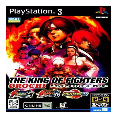 Kof 95 96 97 Ps3 Psn The King Of Fighters Collection Envioja