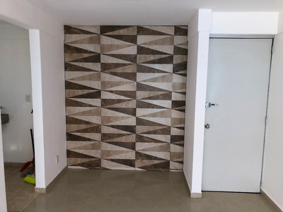 Hermoso Departamento 2 Recamaras Con Closets,jaula De Tendid