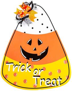 Funnlot Decoracion De Halloween Caramelo De Maiz Decoracion