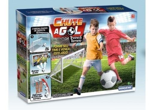 Chute A Gol Treino Tornei Brinquedo Infantil Bola Gol Jogo