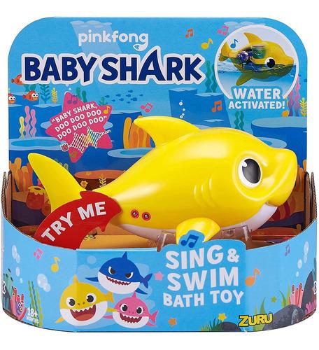 Imagen 1 de 6 de Robo Alive Junior - Tiburon Para Bebe, Talla Unica , Amarill