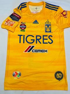 Jersey Tigres Edu Vargas Concachampions 2020 Talla S Firmado