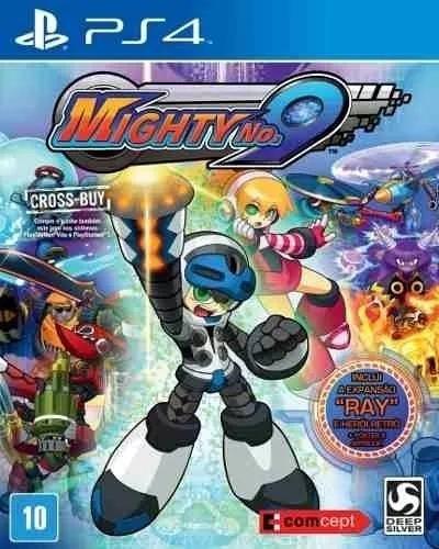 Mighty No. 9 Ps4 Mídia Física Novo Lacrado