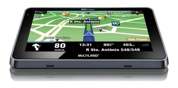 Navegador Gps Automotivo Multilaser Tracker Iii Tela 4,3