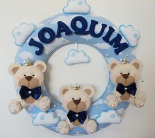 Guirlanda Para Porta Maternidade Ursinhos