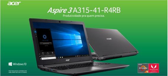 Notebook Acer Aspire 3 Amd Ryzen5, 12gb, W10 Hm,