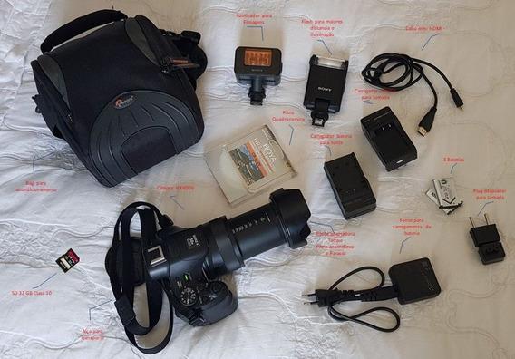 Kit Profissional Camera Cybershot Hx400v