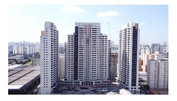 Apartamento Metrô Bras - 50m2 - Fase Final De Obras