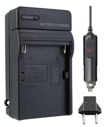Carregador P/ Sony Np-fm50 Fm55 Fm500 Np-f550 F570 F770 F970