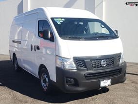 Nissan Urvan Nv350 Amplia Blanco 2016