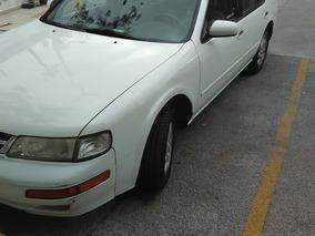Nissan Maxima Gle-2 Sedan Piel At 1999, Circula Diario Urge