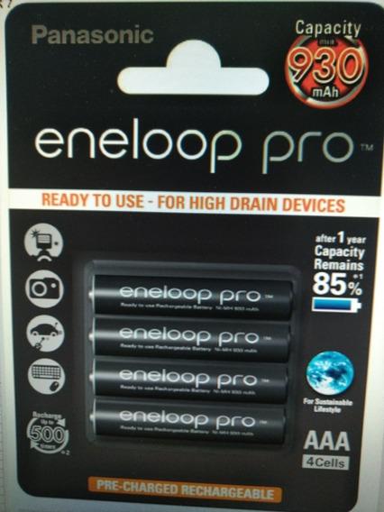 Pilha Recarregável Panasonic Eneloop Pro Aaa - Original !