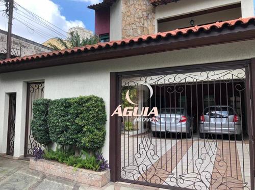 Sobrado Com 3 Dormitórios À Venda, 240 M² Por R$ 950.000 - Vila Curuçá - Santo André/sp - So1470