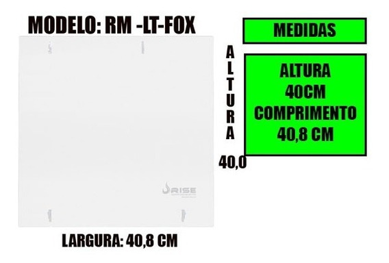 Janela Lateral Pcyes Fox Rm-lt-fox Rise Mode