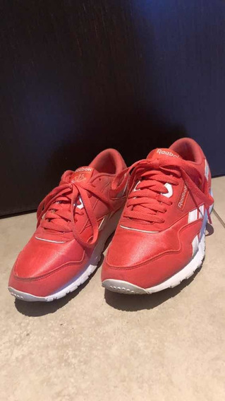 Zapatillas Reebok Royal Nylon Nro 39 . Impecables