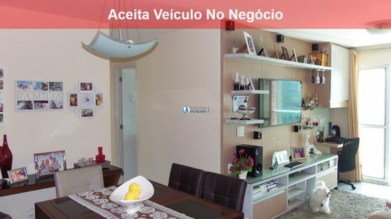 Aquarelle Condomínio Clube - Venda De Apartamento Com 3 Quartos, Com Um Suíte, Em Plena Av. Abel Cabral E Com Vista Privilegiada - Ap00046 - 2592777