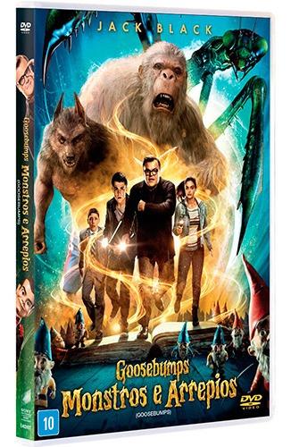 Dvd Goosebumps Monstros E Arrepios
