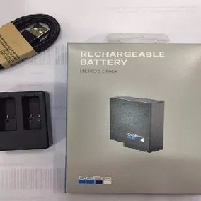 Gopro Carregador Duplo+ Bateria 100% Gopro Hero 5 6