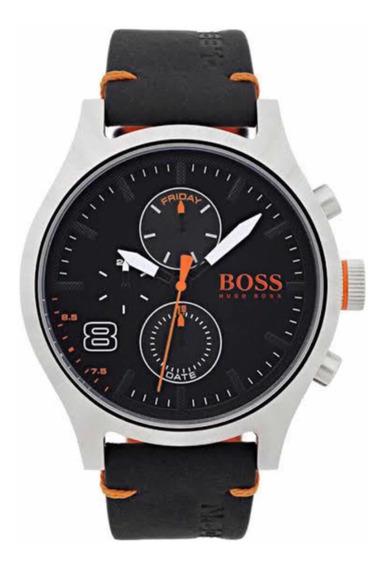 Relógio Hugo Boss Masculino Couro