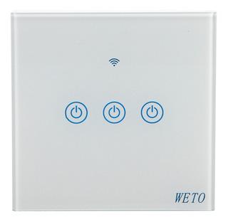 Mando A Distancia Wifi Bluetooth Touch Switch De 3 Vías De C