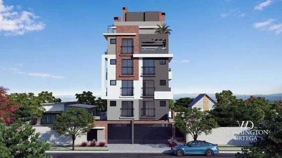 Apartamento Com 3 Dormitórios À Venda, 64 M² Por R$ 260.000,00 - Centro - São José Dos Pinhais/pr - Ap0700