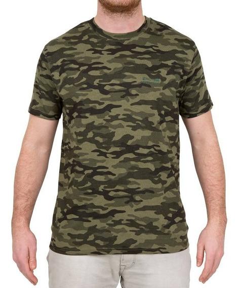 Pack 2 Camisetas Caza Pesca Steppe 100 Manga Corta Camuflaje