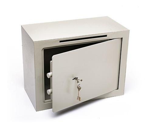 Caja Fuerte 30x40x20 Cm Buzon Abulonar Pared A3 C/b