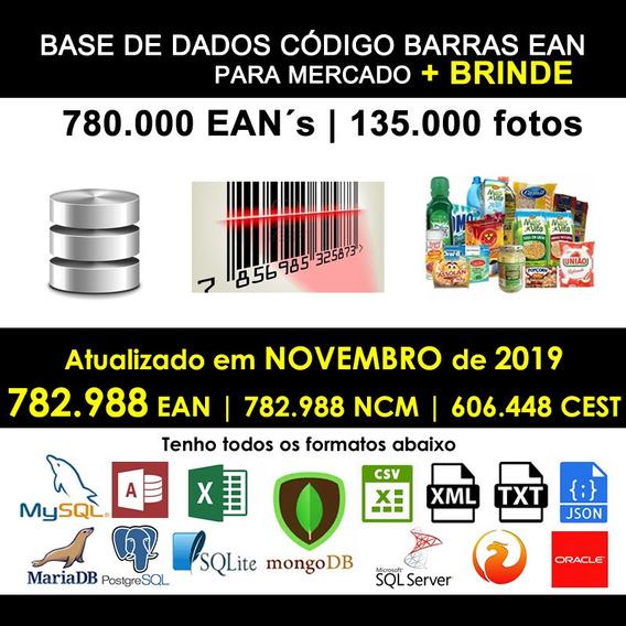 Banco De Dados Supermercado 780 Mil Itens Com Foto Ncm